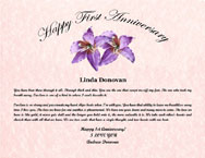 1st Anniversary- Deployment Certificate Gift